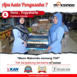 Jual Mesin Wrapping Makanan di Malang
