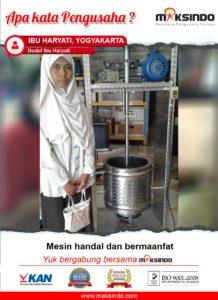 Jual Mesin Pemasak Dan Pengaduk Dodol, Selai, Jenang, dll di Malang