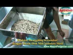 Jual Mesin Pembuat Tepung Disc Mill di Malang