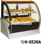 Jual Mesin Pastry Warmer (Hot Showcase) Penyaji Roti di Malang