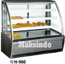 Jual Mesin Pastry Warmer (Hot Showcase) Penyaji Roti di Malang