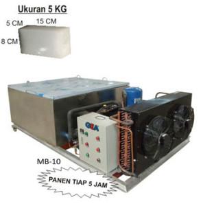 Jual Mesin Pembuat Es Balok (ice block machine) di Malang