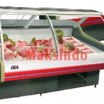 Mesin Curve Glass Serve Counter