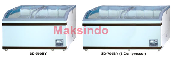 mesin sliding curve glass freezer 4 tokomesin malang