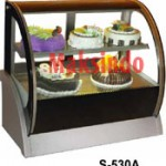 Mesin Countertop Cake Showcase 4