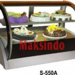 Mesin Countertop Cake Showcase 6