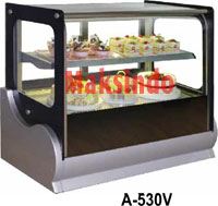 Mesin Countertop Cake Showcase
