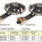 Mesin Gas Open Burner 2