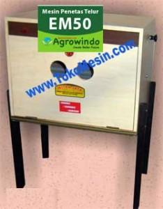 Jual Mesin Penetas Telur Manual 30 Butir (EM-30) di Malang