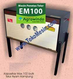 Jual Mesin Penetas Telur Manual 100 Telur (EM-100) di Malang