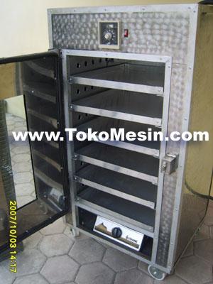 mesin oven pengering serbaguna (stainless-gas) 6 tokomesin malang