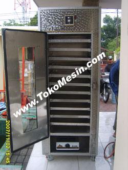 mesin oven pengering serbaguna (stainless-gas) 8 tokomesin malang