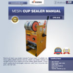 Jual Mesin Cup Sealer Manual NEW di Malang