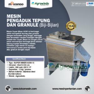 Jual Mesin Pengaduk Tepung dan Biji Super Mixer di Malang