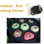 Jual Cetakan Kue 7 Lubang Variasi di Malang