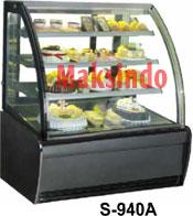 Jual Mesin Cake Showcase (Cooler Pemajang Kue) di Malang