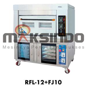 Jual Mesin Combi Deck Oven + Proofer di Malang