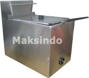 Jual Mesin Deep Fryer Gas (Penggoreng Serbaguna) di Malang