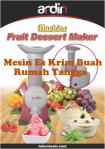 Jual Mesin Es Krim Buah Rumah Tangga di Malang