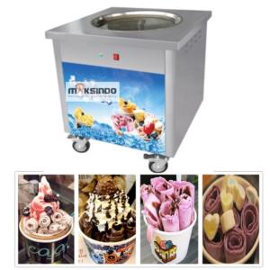 Jual Mesin Fry Ice Cream (Es Krim Roll Goreng) di Malang