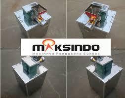 Jual Mesin Cetak Makaroni Aneka Bentuk Stainless di Malang
