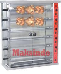 Jual Mesin Pemanggang Ayam (Gas Rotisseries) di Malang