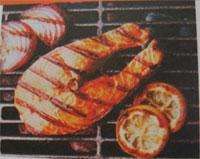 Jual Mesin Pemanggang Ikan dan Daging, Menjadi Steik (Gas Char Broiler) di Malang