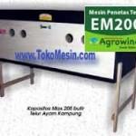 Jual Mesin Penetas Telur Manual 200 Telur (EM-200) di Malang