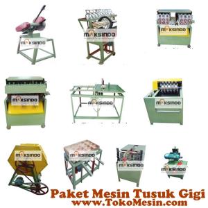 Jual Mesin Tusuk Gigi (paket komplit) di Malang
