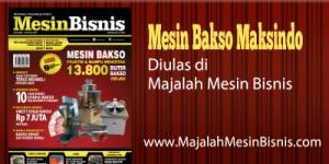 Jual Paket Mesin Pembuat Bakso Maksindo Terbaru di Malang