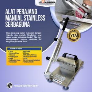 Jual Alat Perajang Manual Stainless Serbaguna di Malang