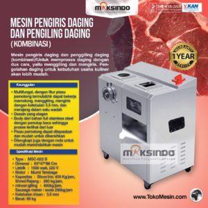 Jual Mesin Pengiris dan Penggiling Daging Standing (Kombinasi) di Malang