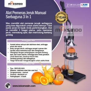 Jual Alat Pemeras Jeruk Manual Serbaguna 3 in 1 di Malang