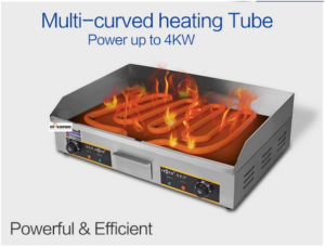 Mesin Pemanggang Griddle (listrik) - EEG820 2 tokomesin malang