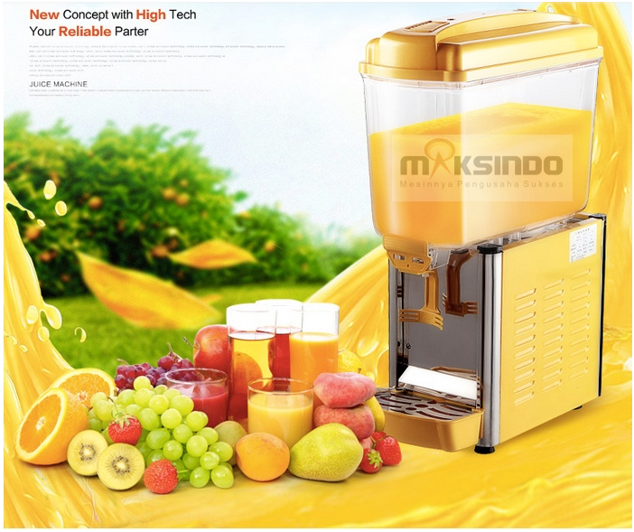 mesin juice dispenser 1 tabung 1 tokomesin malang