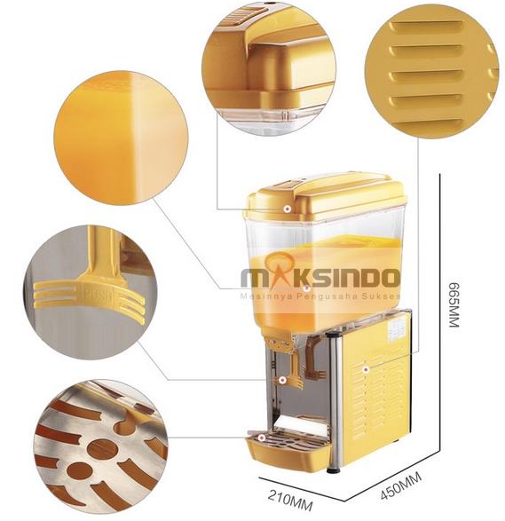 mesin juice dispenser 1 tabung 2 tokomesin malang