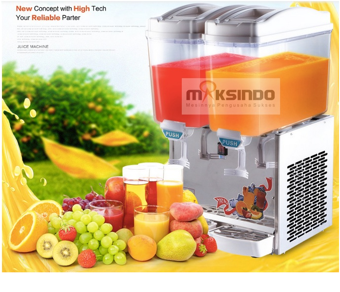 mesin juice dispenser 2 tabung 1 tokomesin malang
