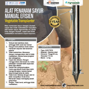 Jual Alat Penanam Sayur (Vegetable Transplanter) Stainless di Malang
