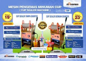 PROMO Mesin Cup Sealler