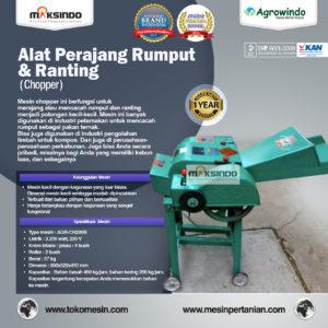 Jual Mesin Chopper Perajang Rumput Gajah dan Sejenisnya AGR-CH200B di Malang