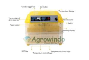 Jual Mesin Penetas Telur 96 Butir Otomatis – AGR-TT96 di Malang
