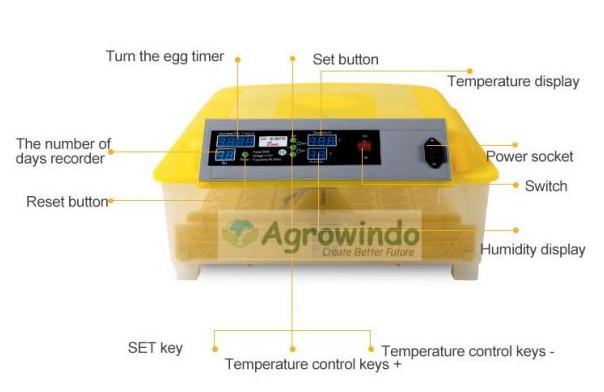 Mesin Penetas Telur Otomatis 48 Butir - AGR-YZ48 2 tokomesin malang
