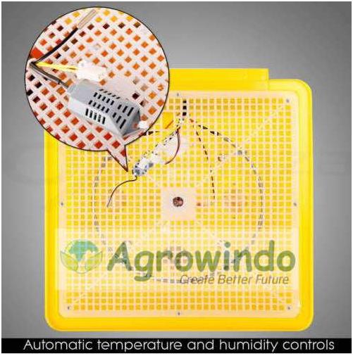 Mesin Penetas Telur Otomatis 48 Butir - AGR-YZ48 5 tokomesin malang