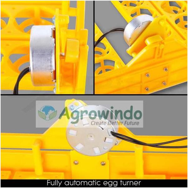 Mesin Penetas Telur Otomatis 48 Butir - AGR-YZ48 6 tokomesin malang