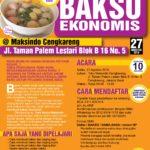 Training Usaha Bakso di Cengkareng 27 Agustus 2016