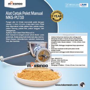 Jual Alat Cetak Pelet Manual – MKS-PLT10 di Malang