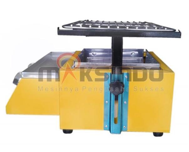 Mesin Pemanggang Sate - BBQ 2 Tungku (Gas) 2 tokomesin malang