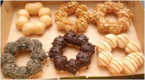 Jual Mesin Pembuat Donut Bentuk Flower (listrik) di Malang