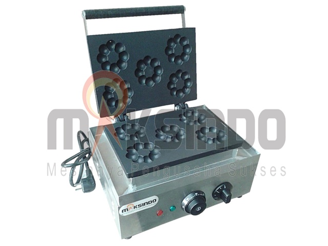 Mesin Pembuat Donut Bentuk Flower (listrik) 2 tokomesin malang