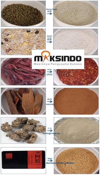 Mesin Penepung Biji-Bijian, Bumbu dan Herbal (GRAIN GRINDER) 1 tokomesin malang